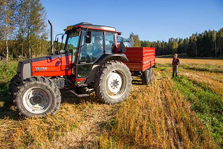 Smeds traktor traktori