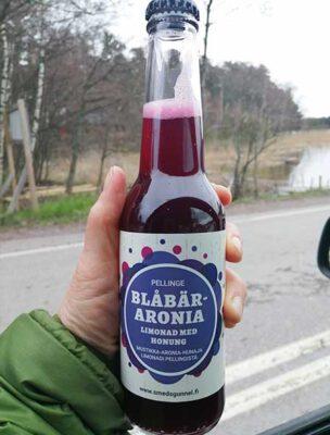 Blåbär-aronia limonad